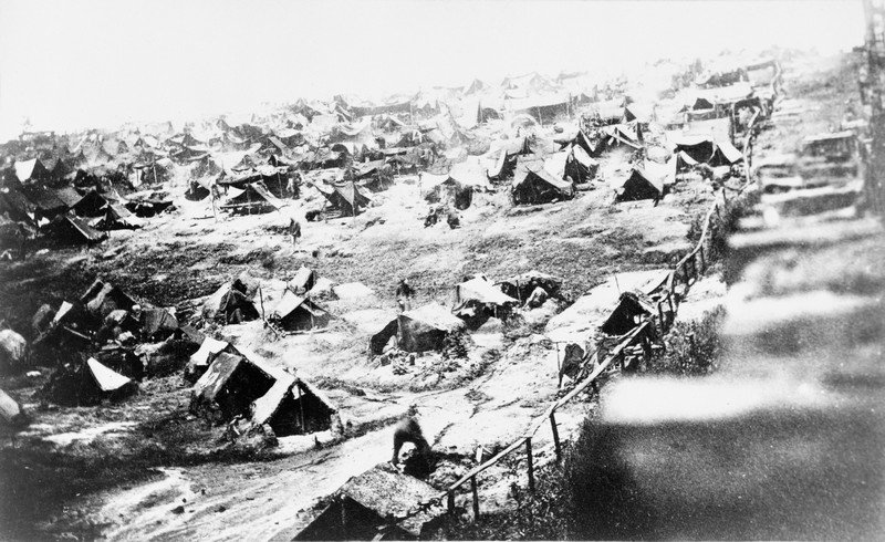 Andersonville POW Tents