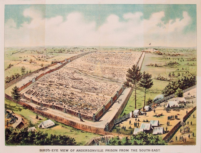 Andersonville Prison by Keystone Publishing 1890