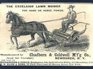 Chadborn & Coldwell Excelsior Ad