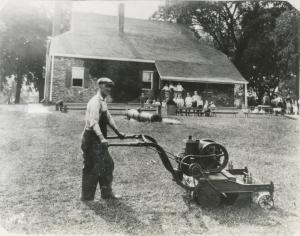 Coldwell Lawnmover at WHQ