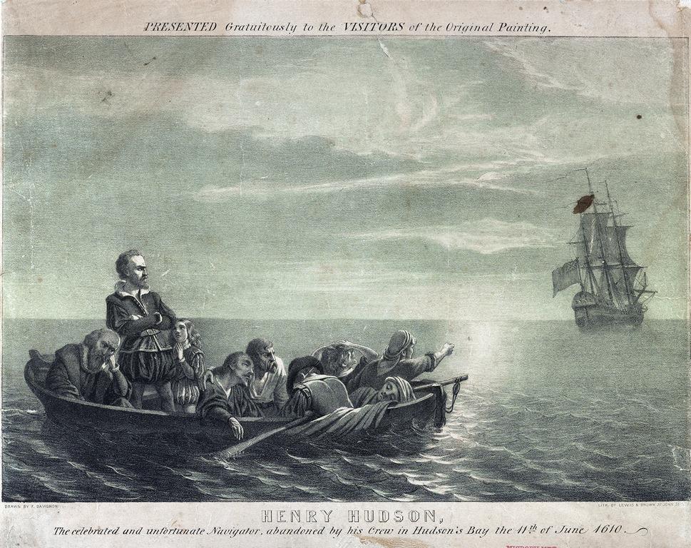 Henry Hudson Adrift