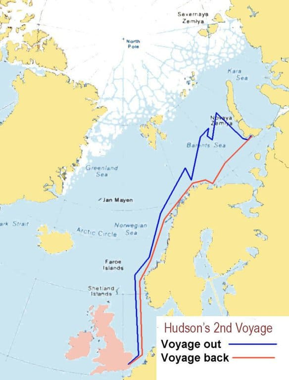The Second Voyage of Henry Hudson