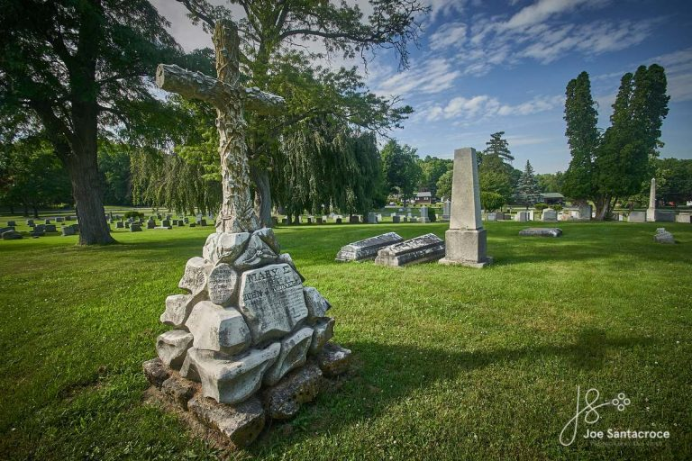 The Gravesite of Andrew Jackson Downing n