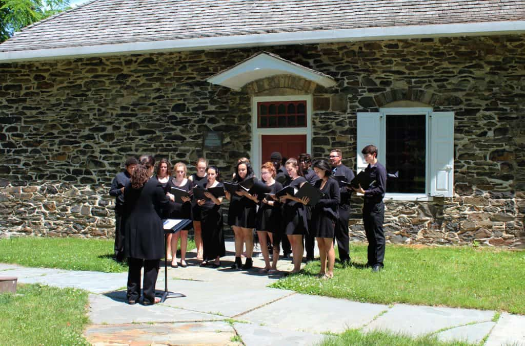 NFA Madrigals at Washington's Headquarters 2