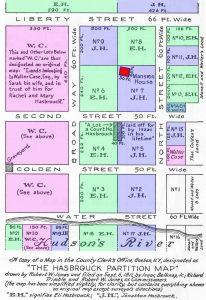 Washington's Headquarters 1811 Partition Map